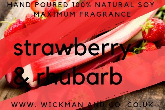 Strawberry & Rhubarb Soy Wax Melt